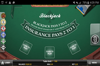 European Blackjack MH Mobile